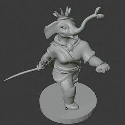 penelope.JPG Download free STL file Elephant Royalty • 3D print design, gabrieljspangler