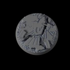Descargar archivos 3D gratis 32mm-Base-Urbam-01, michalmrozplsl