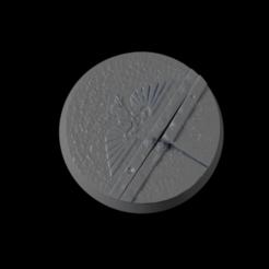 32mm-Base-Urban02-i01.png Télécharger fichier STL gratuit 32mm-Base-Urbam-02 • Plan imprimable en 3D, Ilumin4tus