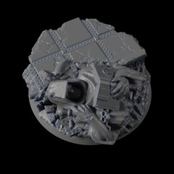 40mm-Base-Urban-02.jpg Télécharger fichier STL gratuit 40mm Base urbaine 02 • Modèle pour imprimante 3D, Ilumin4tus