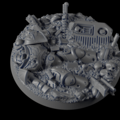 Descargar archivos 3D gratis 50mm Héroe de la Base 01, michalmrozplsl