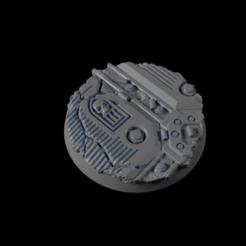 32mm-Base-Urban04.png Télécharger fichier STL gratuit Base urbaine 32 mm 04 • Design pour impression 3D, Ilumin4tus
