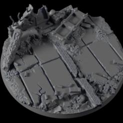 Descargar modelo 3D gratis 90mm-Base-Urban-01, michalmrozplsl