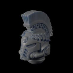 Download free STL file Head-001 • 3D print model, Ilumin4tus