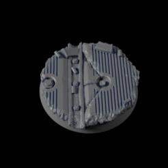 32mm-Base-Urban05.png Télécharger fichier STL gratuit Base urbaine 32 mm 05 • Design pour imprimante 3D, Ilumin4tus