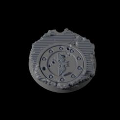 32mm-Base-Urban06.png Télécharger fichier STL gratuit Base urbaine 32 mm 06 • Design imprimable en 3D, Ilumin4tus