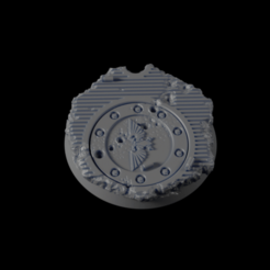Impresiones 3D gratis 32mm Base Urbana 06, michalmrozplsl