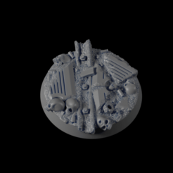 Download free 3D printer model 32mm Urban Base 08, michalmrozplsl