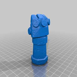 Download free 3D printer templates Punch HellBoy, Cody3D