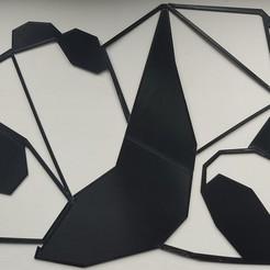1604180785934.jpg Télécharger fichier STL Panda origami • Objet pour impression 3D, Miguelito