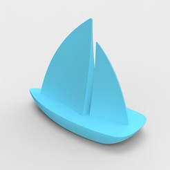 Download free STL files Sailboat, myozakar
