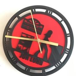Download 3D print files Jon Lord Clock, MycroG