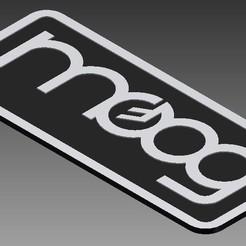 Download 3D printing models LOGO MOOG MINIMOOG, MycroG