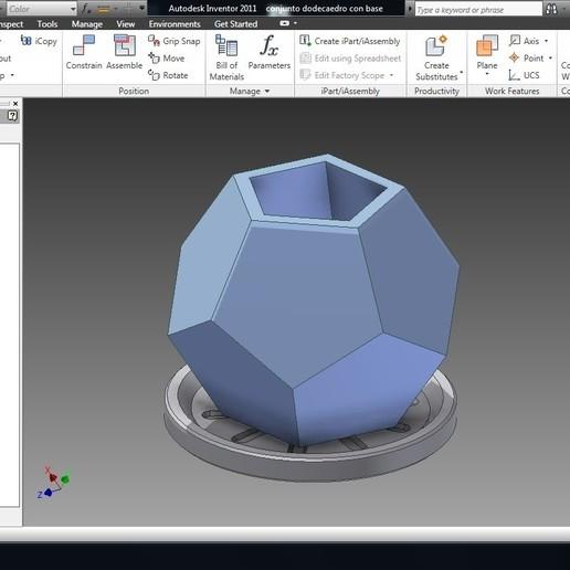 Download 3D printing templates Flower pot (Qty 3), MycroG