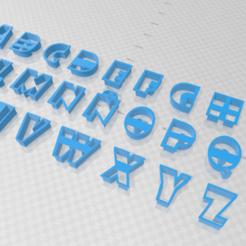 Download 3D print files Cortante galletas abecedario, agusds1996