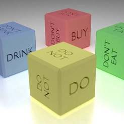 Download free 3D model Dice of the Decisions, Crackers3D4D