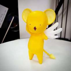Download free 3D printer designs Kero Chan (Keroberos in Cardcaptor Sakura), Crackers3D4D