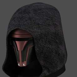 Download free 3D printer templates Darth Revan Mask, Crackers3D4D