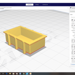 Demi Container Rectangle ou Caisse.png Download free STL file BOAT MODEL RECTANGULAR CONTAINER OR BOX • 3D printer object, GRAUPNERROBBE