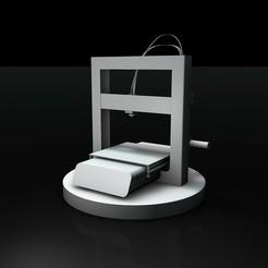 Download STL file Printer Aurora • 3D print template, davidgerardopaez
