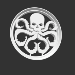 Download 3D printer files COOKIE CUTTER - HYDRA (LOGO)., JOSUEADONA