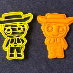 Download STL files Cookie cutter - Sheriff Woody (Toy Story 4), JOSUEADONA