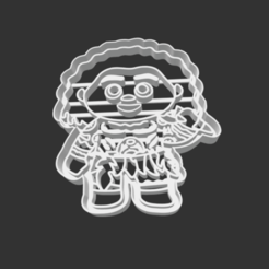 Download 3D printer designs COOKIE CUTTER - MAUI (MOANA SING ALONG), JOSUEADONA
