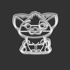 Download 3D printer designs COOKIE CUTTER - PUA (MOANA SING ALONG), JOSUEADONA