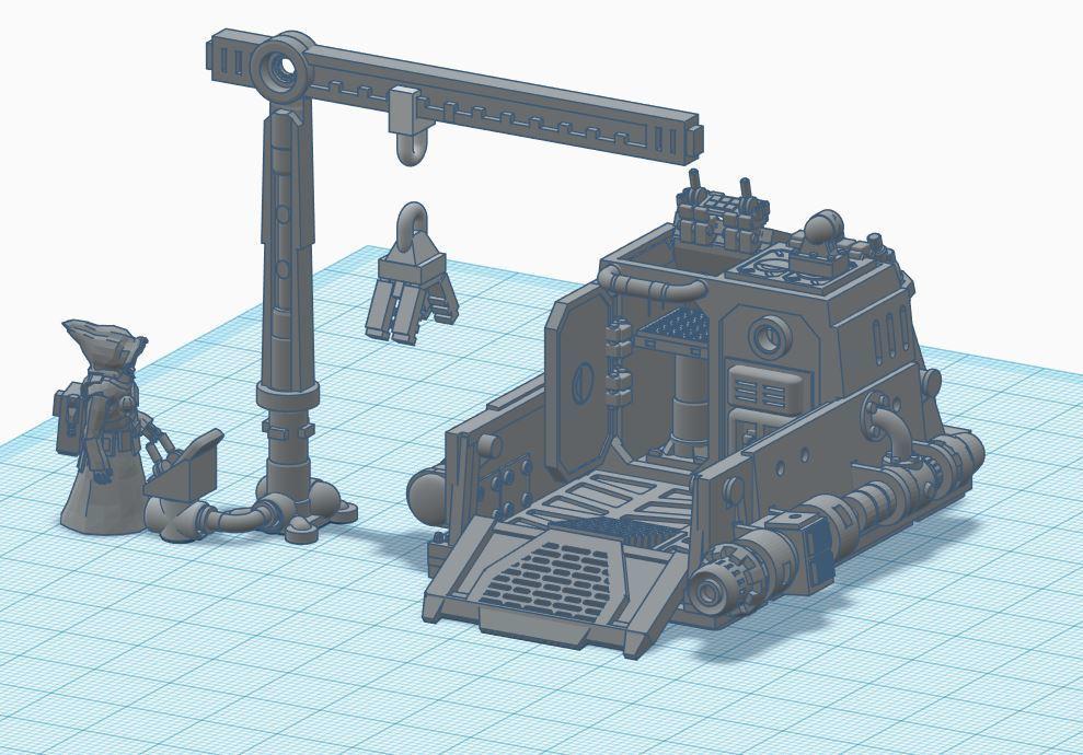 Jawa Shuttle Scooter-03.JPG Download free STL file Jawa Shuttle Scooter • 3D printer template, polerix