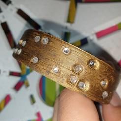 Download free 3D printer designs Braille Bracelet, Renee_Taylor