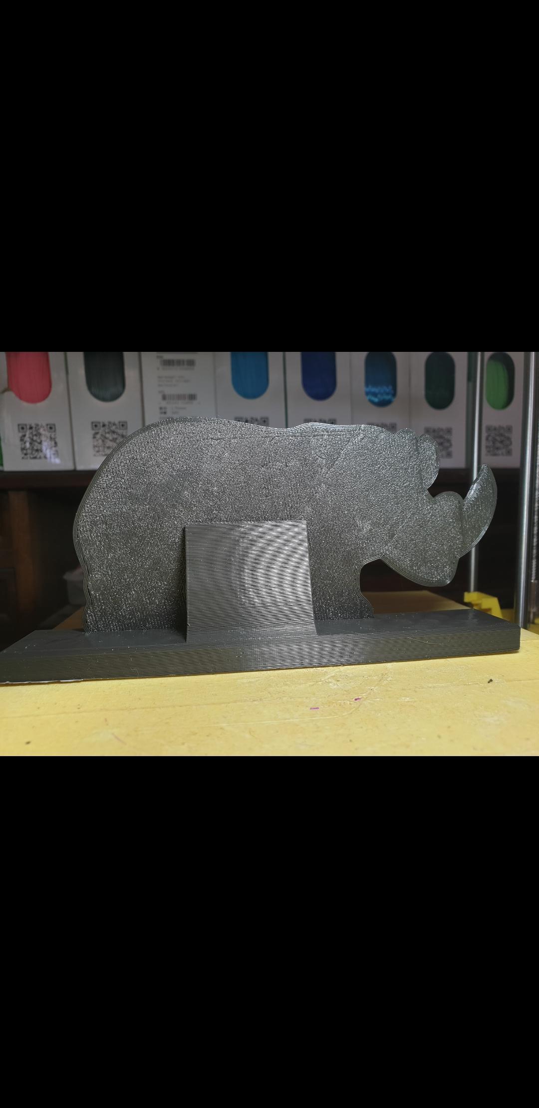 Screenshot_20190930-123327_Gallery.jpg Download free STL file Rhinoceros Puzzle • Template to 3D print, Renee_Taylor