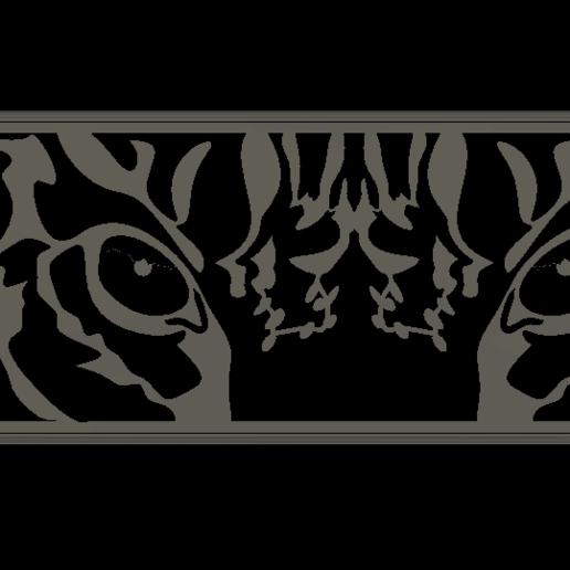 tiger eyes v1.png Télécharger fichier STL gratuit Tigre • Plan à imprimer en 3D, Renee_Taylor