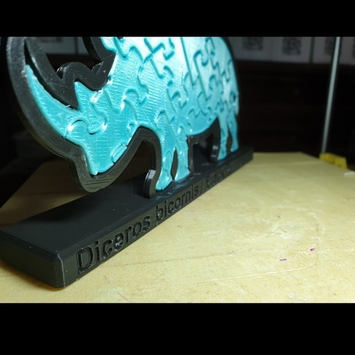 Screenshot_20190930-123320_Gallery.jpg Download free STL file Rhinoceros Puzzle • Template to 3D print, Renee_Taylor