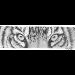 Download free 3D printer designs Tiger , Renee_Taylor