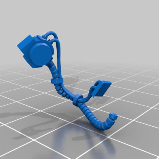 Aggressor_1_left_hoses.png Download free STL file Flame Armed Instigators • 3D printable template, danny_cyanide