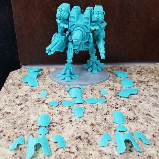 Imprimir en 3D gratis La máquina de guerra de Dios en miniatura, danny_cyanide