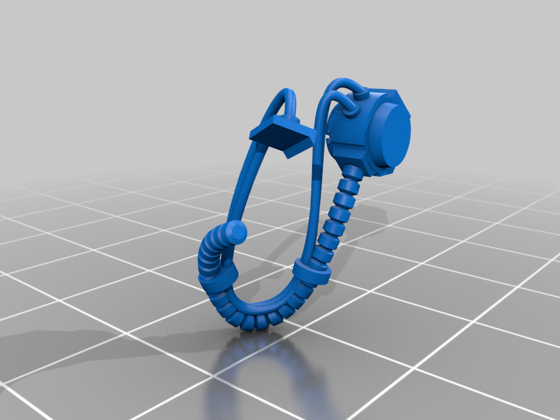Sgt_1_Right_Hoses.png Download free STL file Flame Armed Instigators • 3D printable template, danny_cyanide
