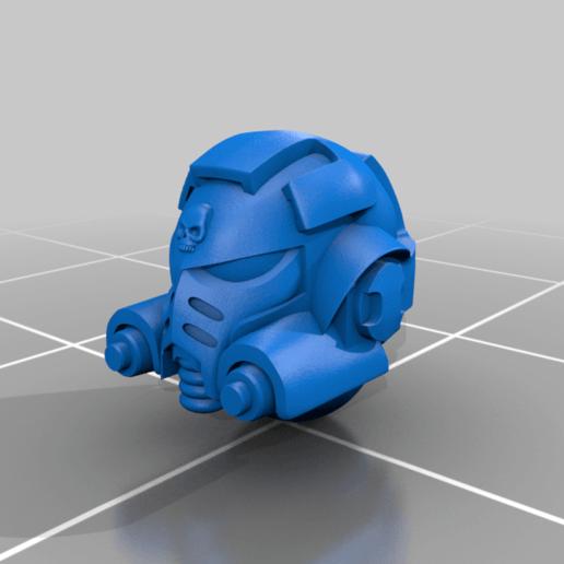SGT_helmet_V2.png Download free STL file Flame Armed Instigators • 3D printable template, danny_cyanide