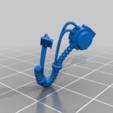 Aggressor_1_Right_hoses.png Download free STL file Flame Armed Instigators • 3D printable template, danny_cyanide