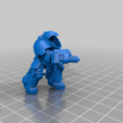 Aggressor_4_Body.png Download free STL file Flame Armed Instigators • 3D printable template, danny_cyanide
