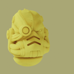 Download free STL file Bionic Head for Prime Marines • Design to 3D print, danny_cyanide