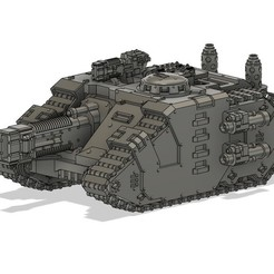 Download free STL file Improvised Shiv Armored Strike Tank • Template to 3D print, danny_cyanide