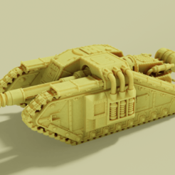 Download free STL file Tank Hunter of Great Valor • Model to 3D print, danny_cyanide