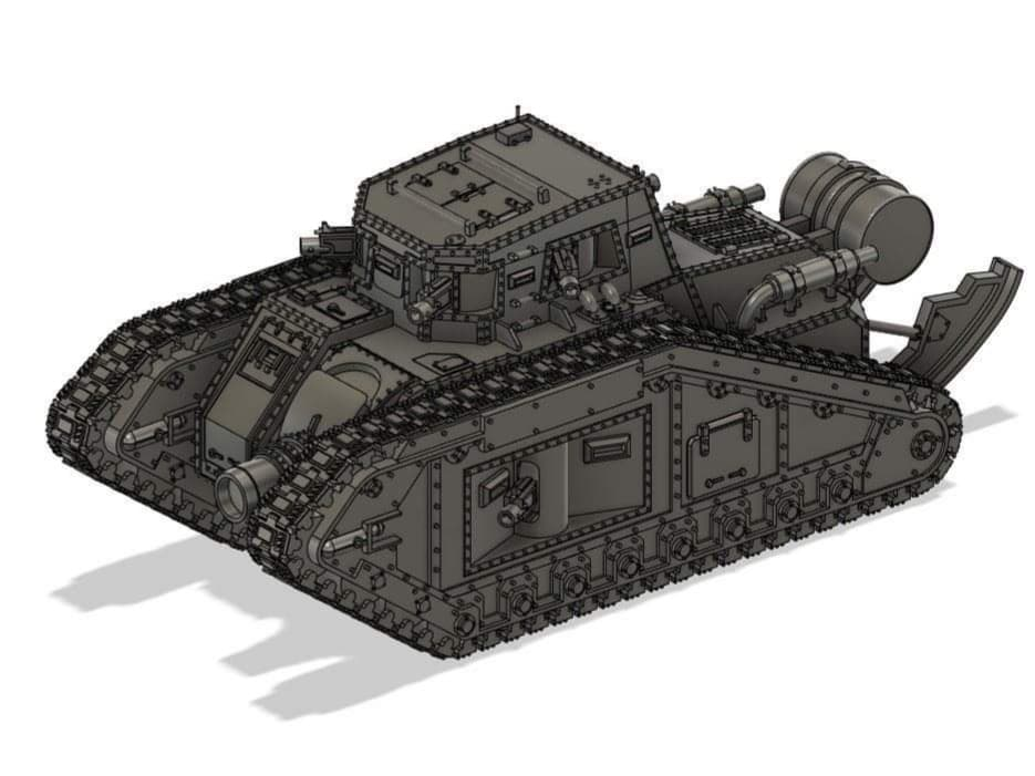 Complete_4x3.jpg Download free STL file Sigilates Shooty Shooty Dakka Defense Boat • Design to 3D print, danny_cyanide
