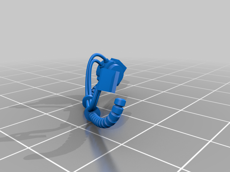 Sgt_2_Right_Hoses.png Download free STL file Flame Armed Instigators • 3D printable template, danny_cyanide