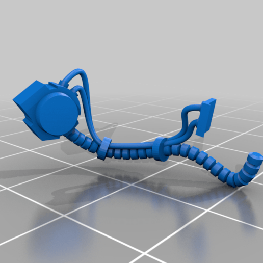 Aggressor_3_Left_Hoses.png Download free STL file Flame Armed Instigators • 3D printable template, danny_cyanide