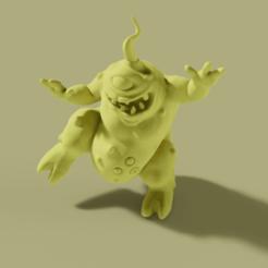 nurgling.png Télécharger fichier STL gratuit La danse et le gargouillement • Modèle pour imprimante 3D, danny_cyanide