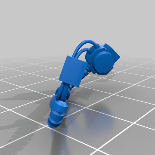 Aggressor_2_Right_hoses.png Download free STL file Flame Armed Instigators • 3D printable template, danny_cyanide