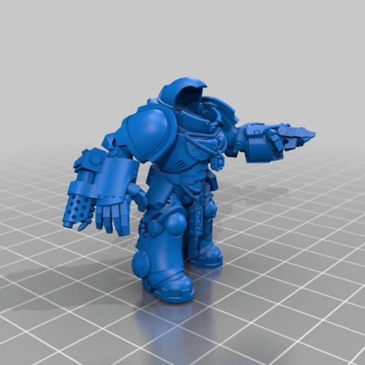 Sgt_1_Body.png Download free STL file Flame Armed Instigators • 3D printable template, danny_cyanide