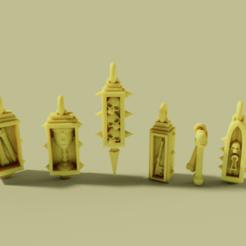 Descargar archivos 3D gratis Grimdark Charm Braclet, danny_cyanide